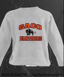 Saco Panthers Sweatshirt Design Zoom